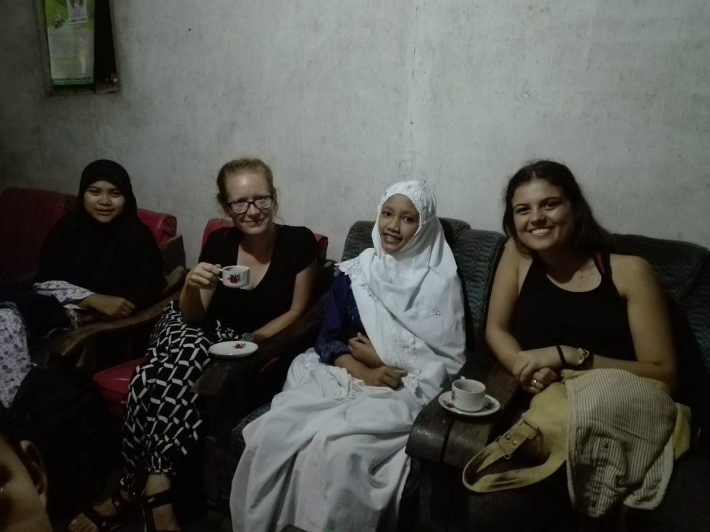 w indonezyjskiej wiosce