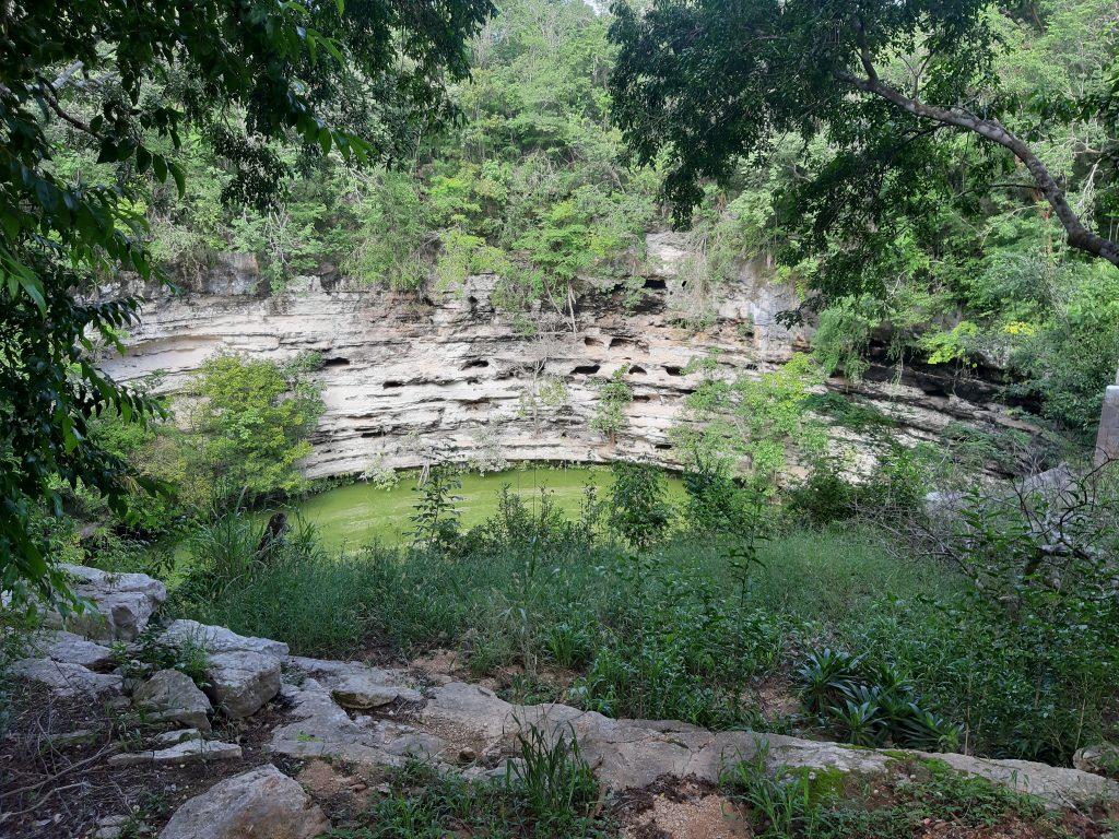 święte cenote, Chichen Itza, Jukatan, Meksyk, Mexico