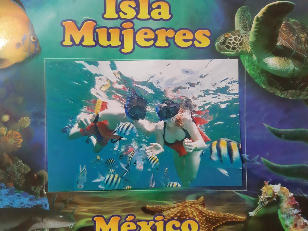 Isla Mujeres, Jukatan, Meksyk, Mexico - snorkeling