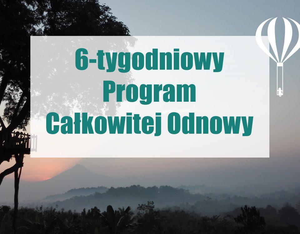 6-tygodniowy program całkowitej odnowy be better programme