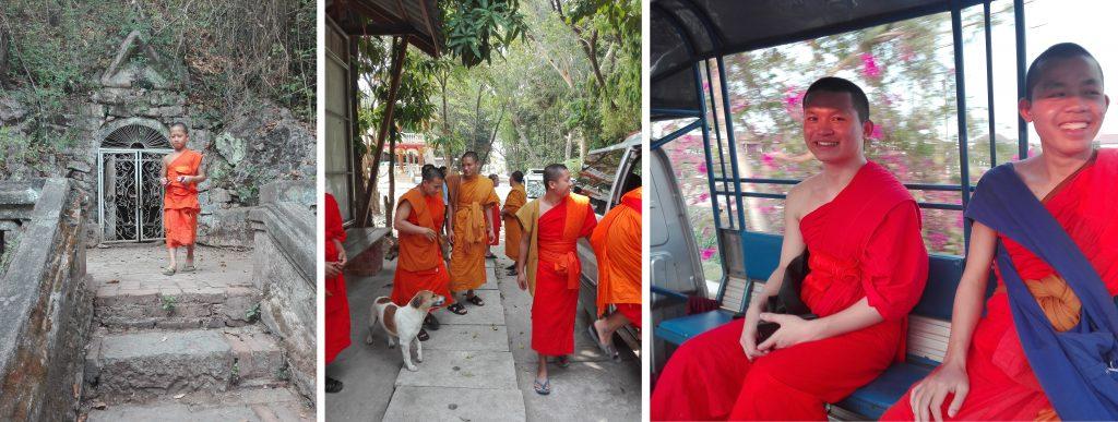 buddyjscy mnisi laos buddhist monks