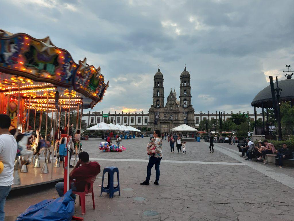 ZApopan Centrum, Jalisco, Meksyk karuzela