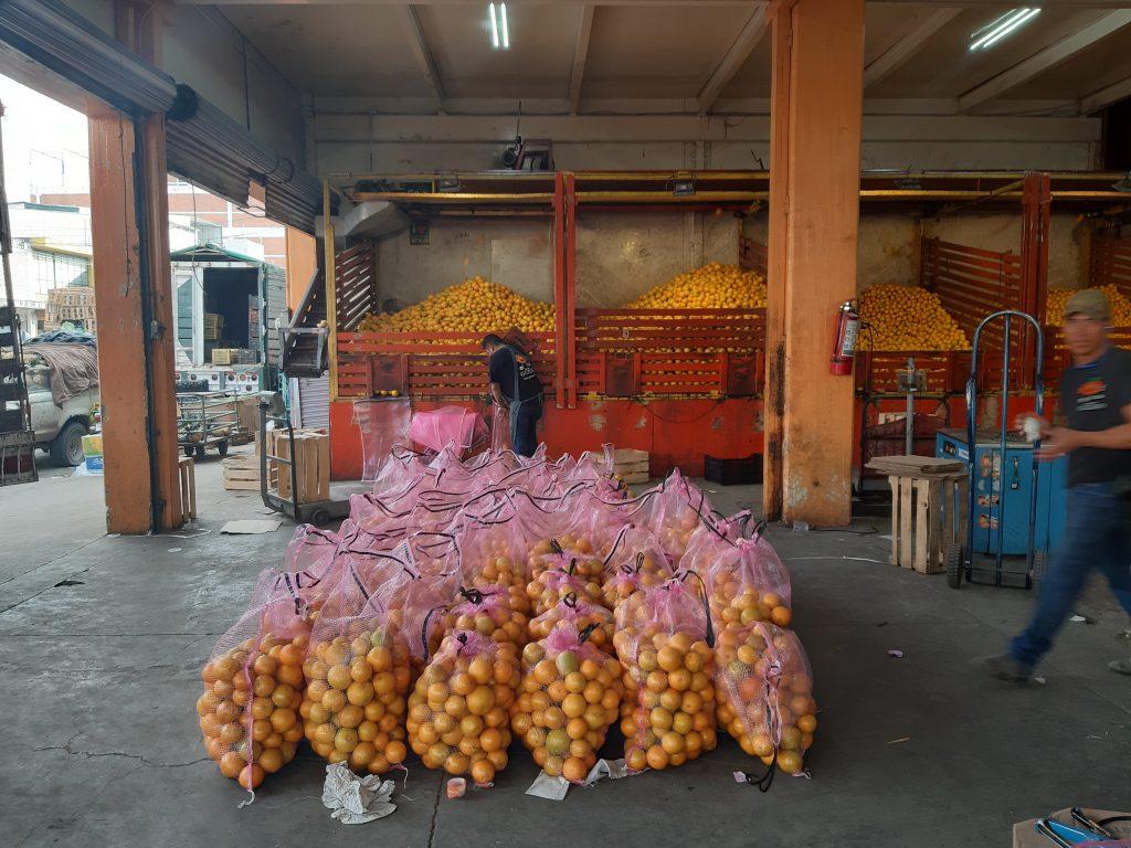 Mercado de Abastos, Guadalajara meksyk pomarańcze