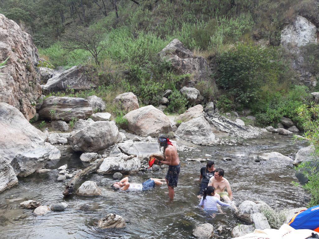 Rio Caliente w Bosque de la Primavera, Jalisco, Meksyk