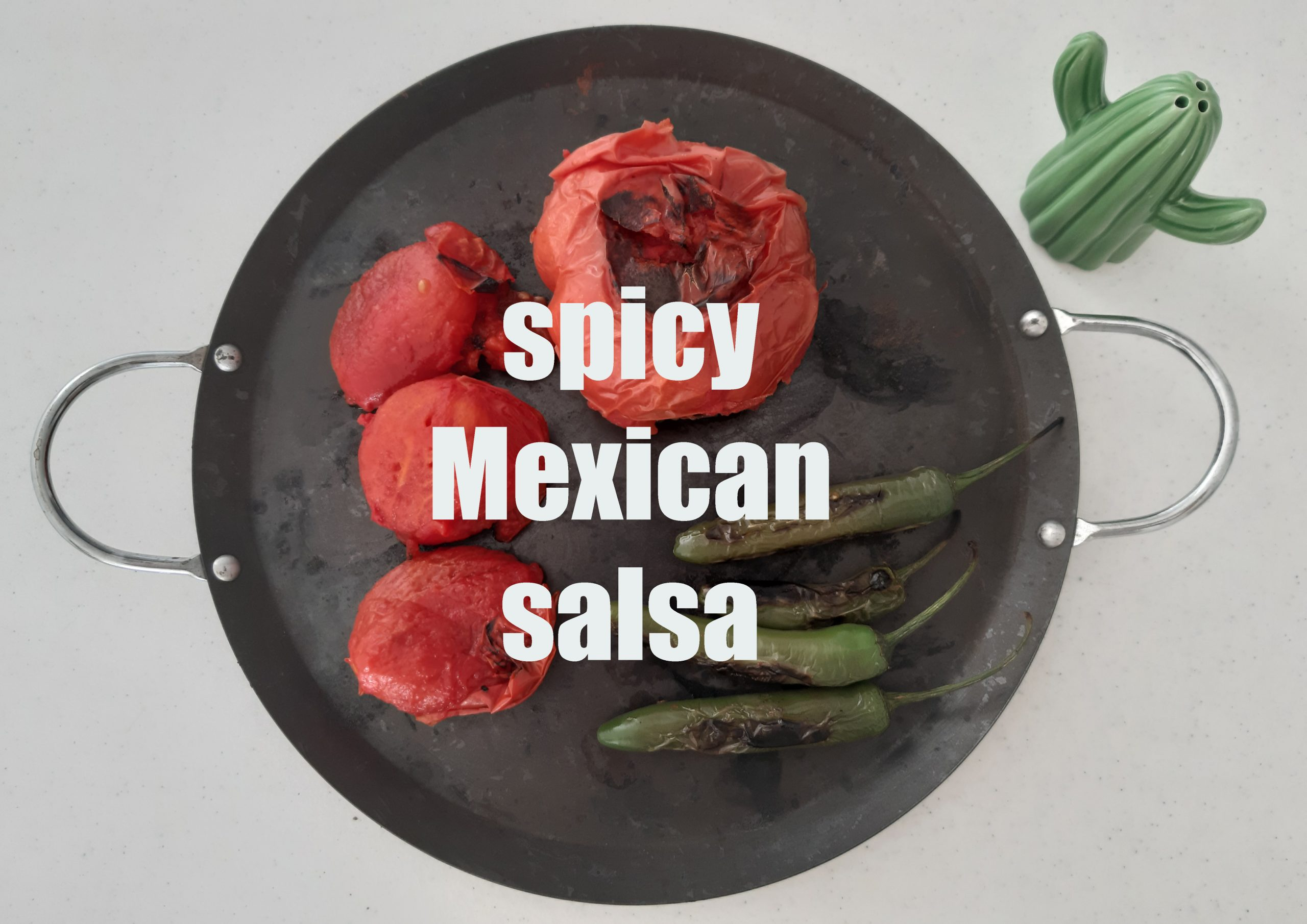 spicy Mexican salsa