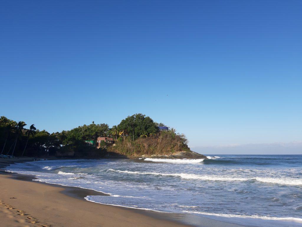 San Pancho beach Mexico