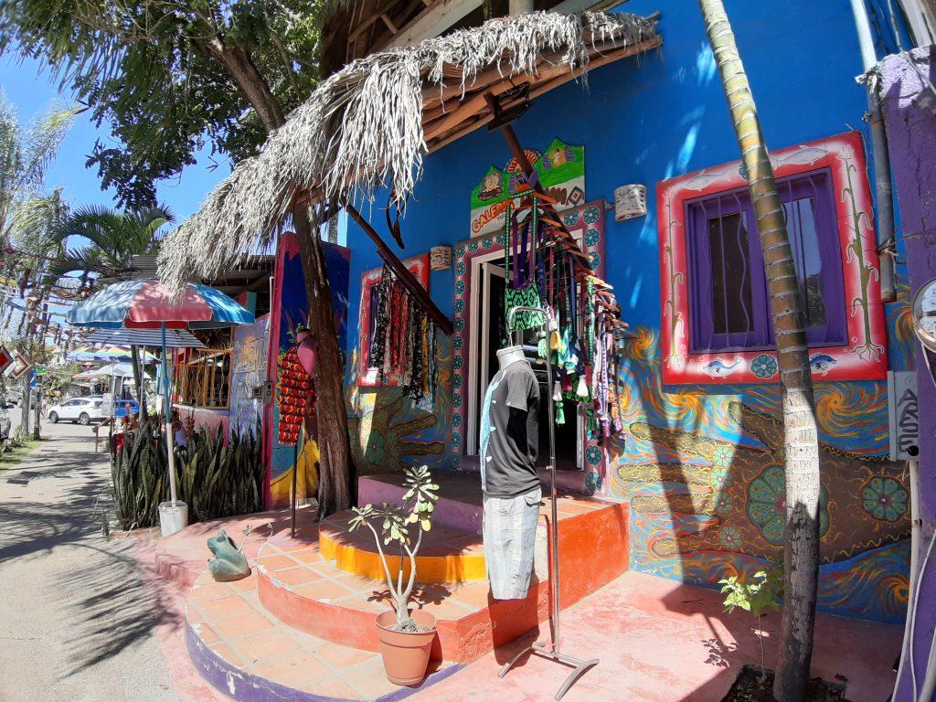 SAyulita Meksyk kolorowe ulice