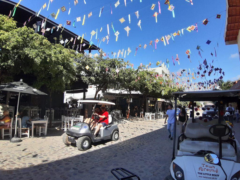 wózki golfowe sayulita Meksyk