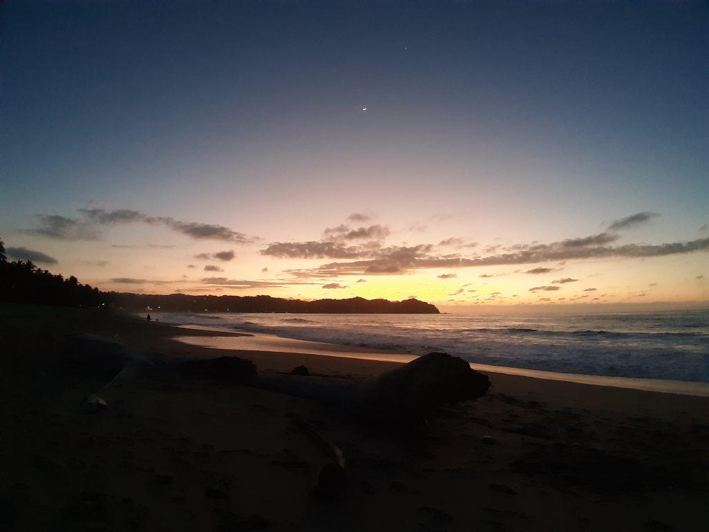 SAyulita Meksyk zachód słońca na plaży
