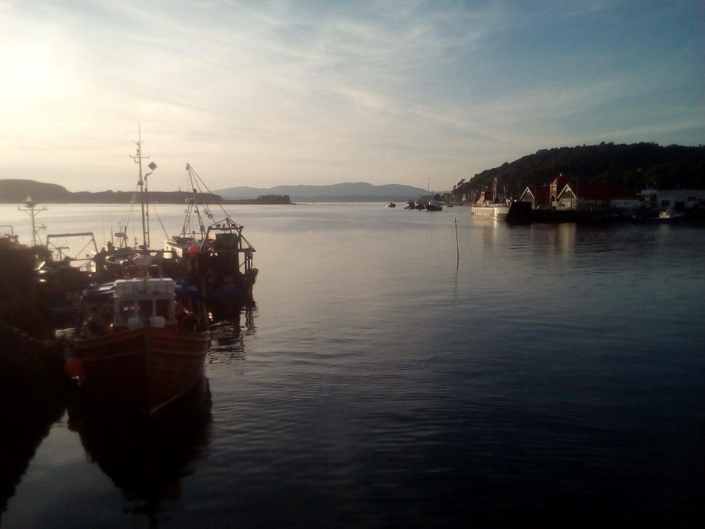 Oban, Szkocja, Wielka Brytania kutry rybackie