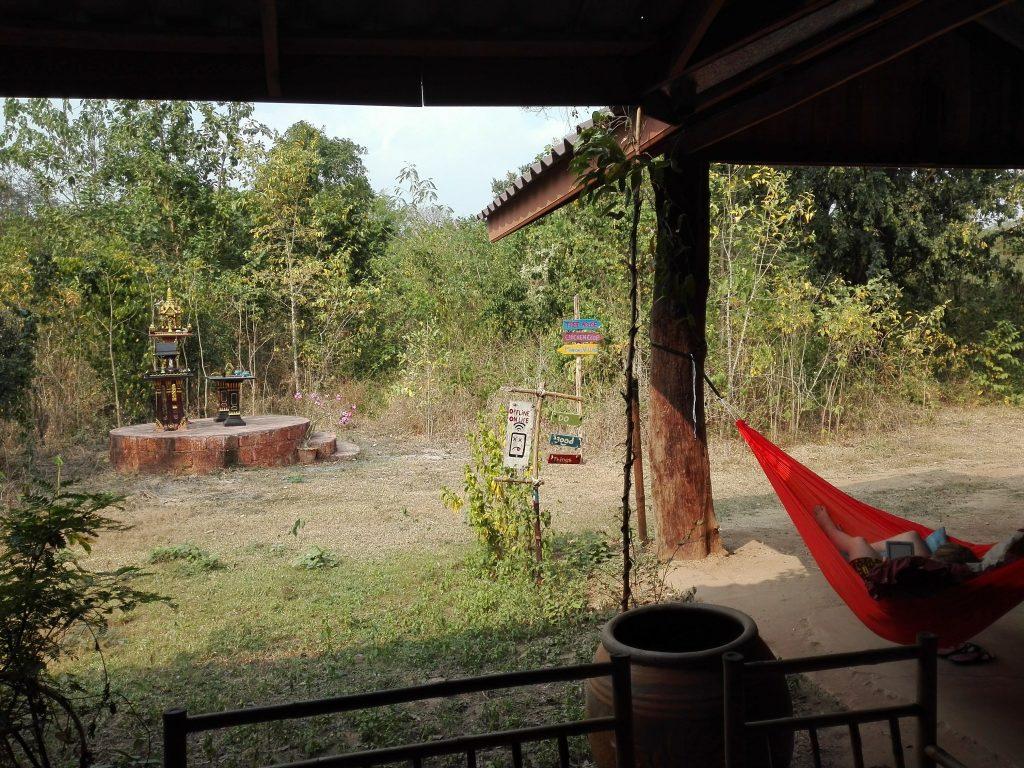 Tajlandia mieszkając w dżungli