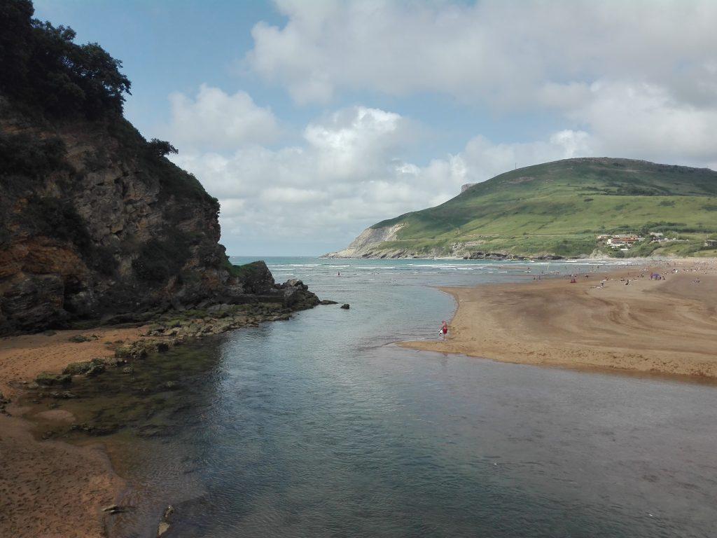 camino del norte Hiszpania plaża