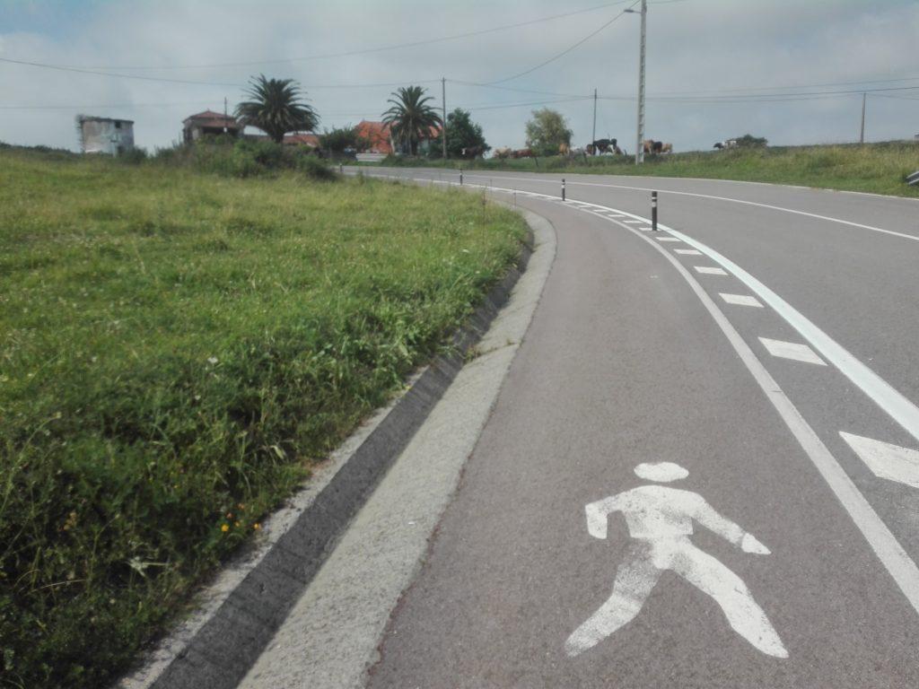 na trasie mewy camino del norte camino de santiago Hiszpania droga