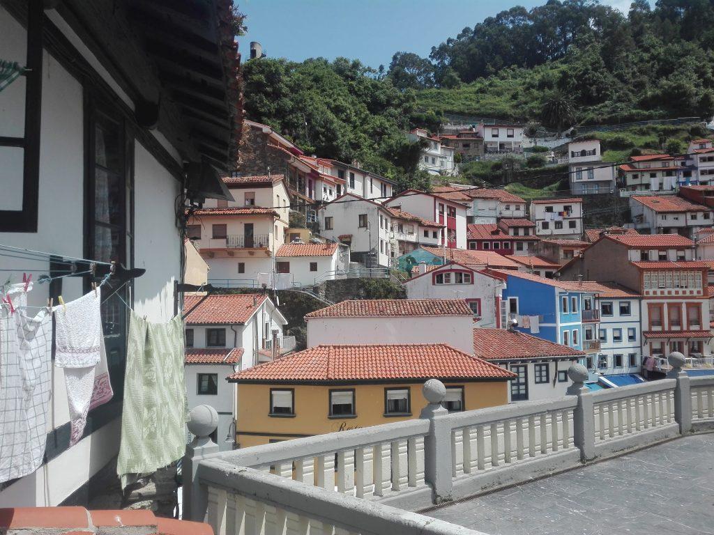 Cudillero - camino del norte camino de santiago Hiszpania