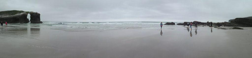 Playa de las Catedrales (niedaleko Ribadeo) camino de santiago hiszpania