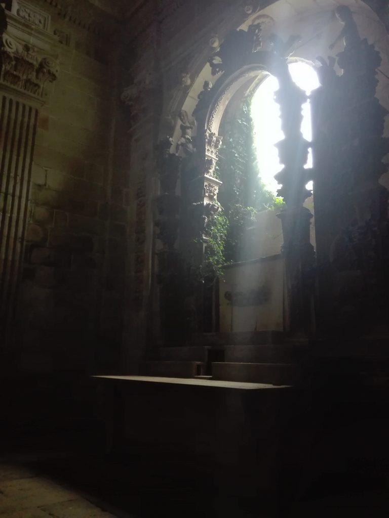 klasztor cystersów w Sobrado camino del norte camino de santiago hiszpania