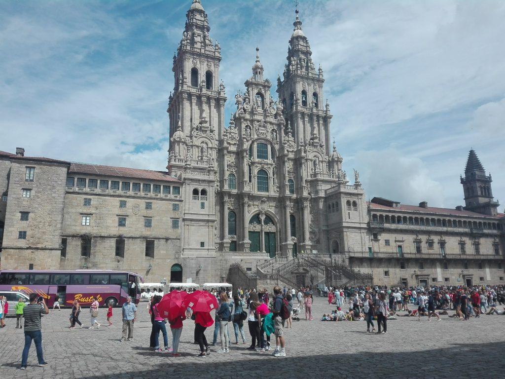 katedra Santiago de Compostela camino de santiago hiszpania
