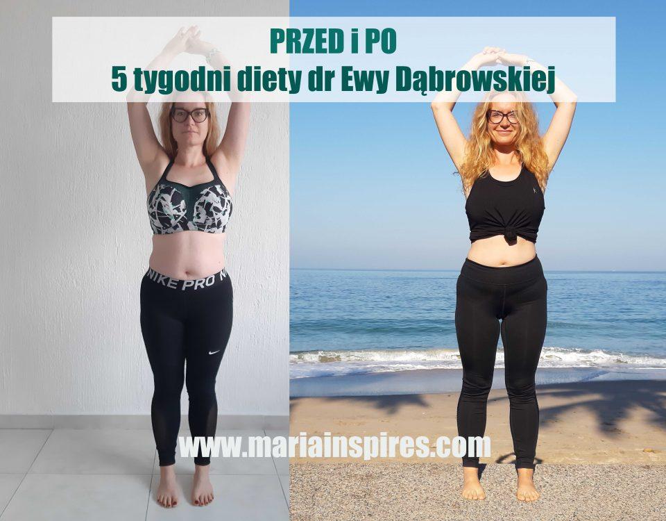 Przed i Po - 5 tygodni diety dr Ewy Dąbrowskiej