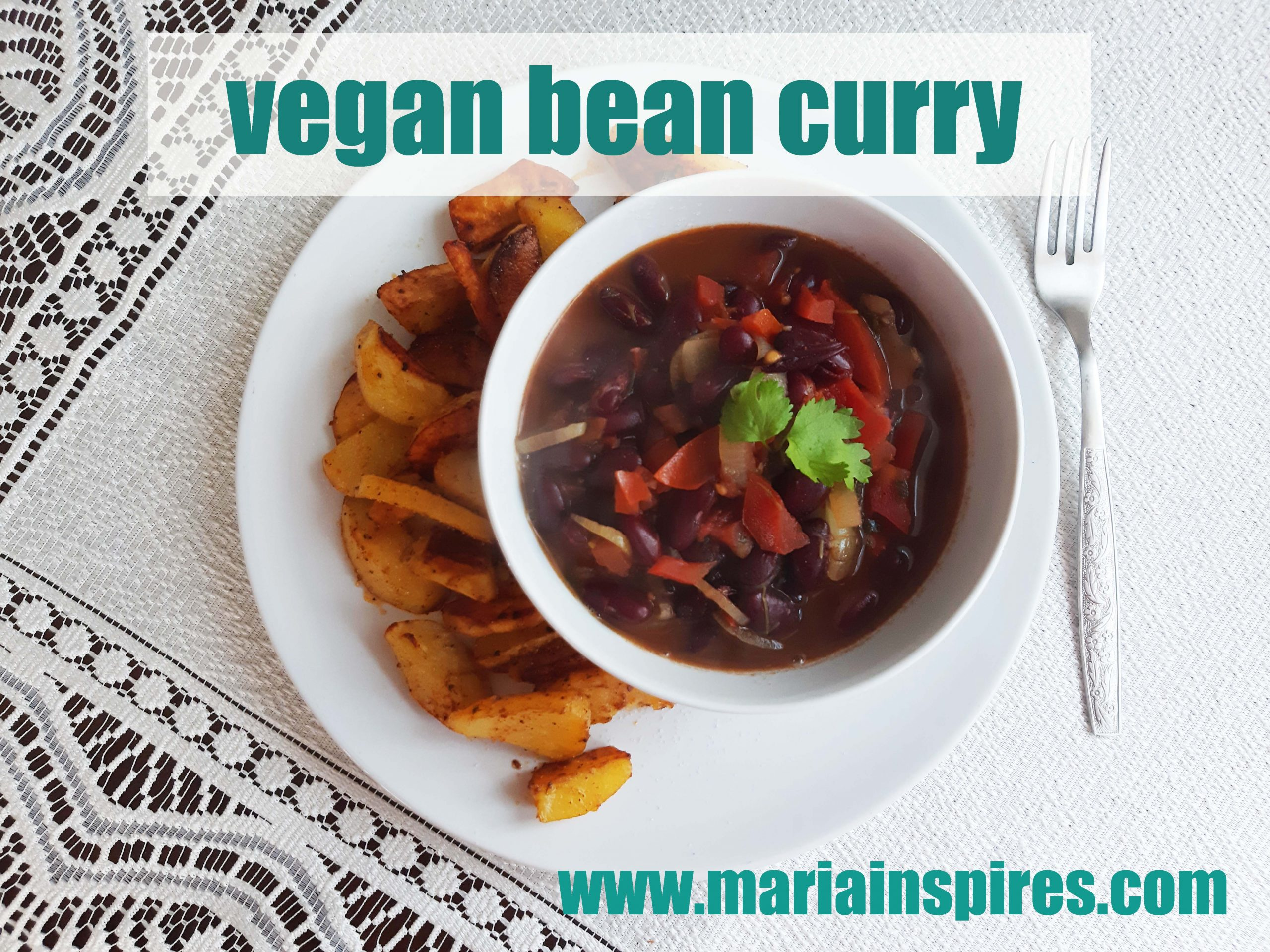 fast vegan bean curry recipe